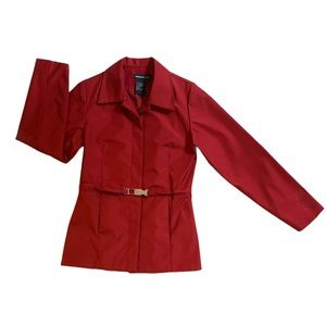Tristan Red Spring Jacket Size XS
